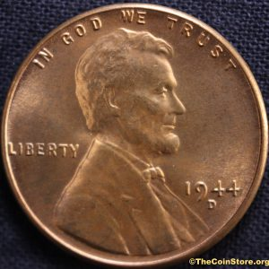 1944-D Lincoln Cent Brilliant Uncirculated at TheCoinStore.org